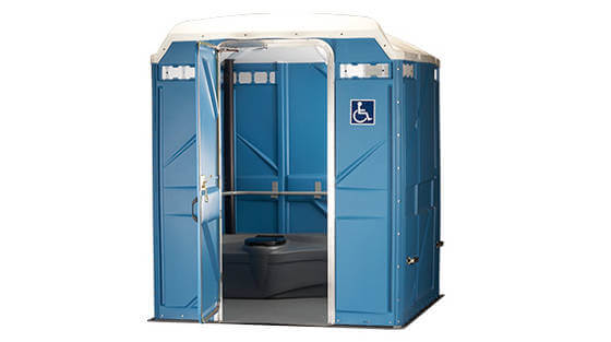 ADA accessible porta potty